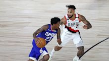 Kawhi-less Clippers beat back Blazers in blow to Portland's playoff push