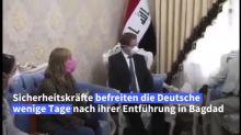 Hella Mewis bedankt sich für Befreiung im Irak