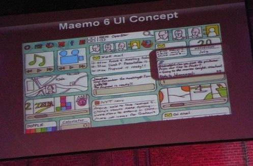 Maemo 6 UI concept revealed to include portrait mode, capacitive multitouch