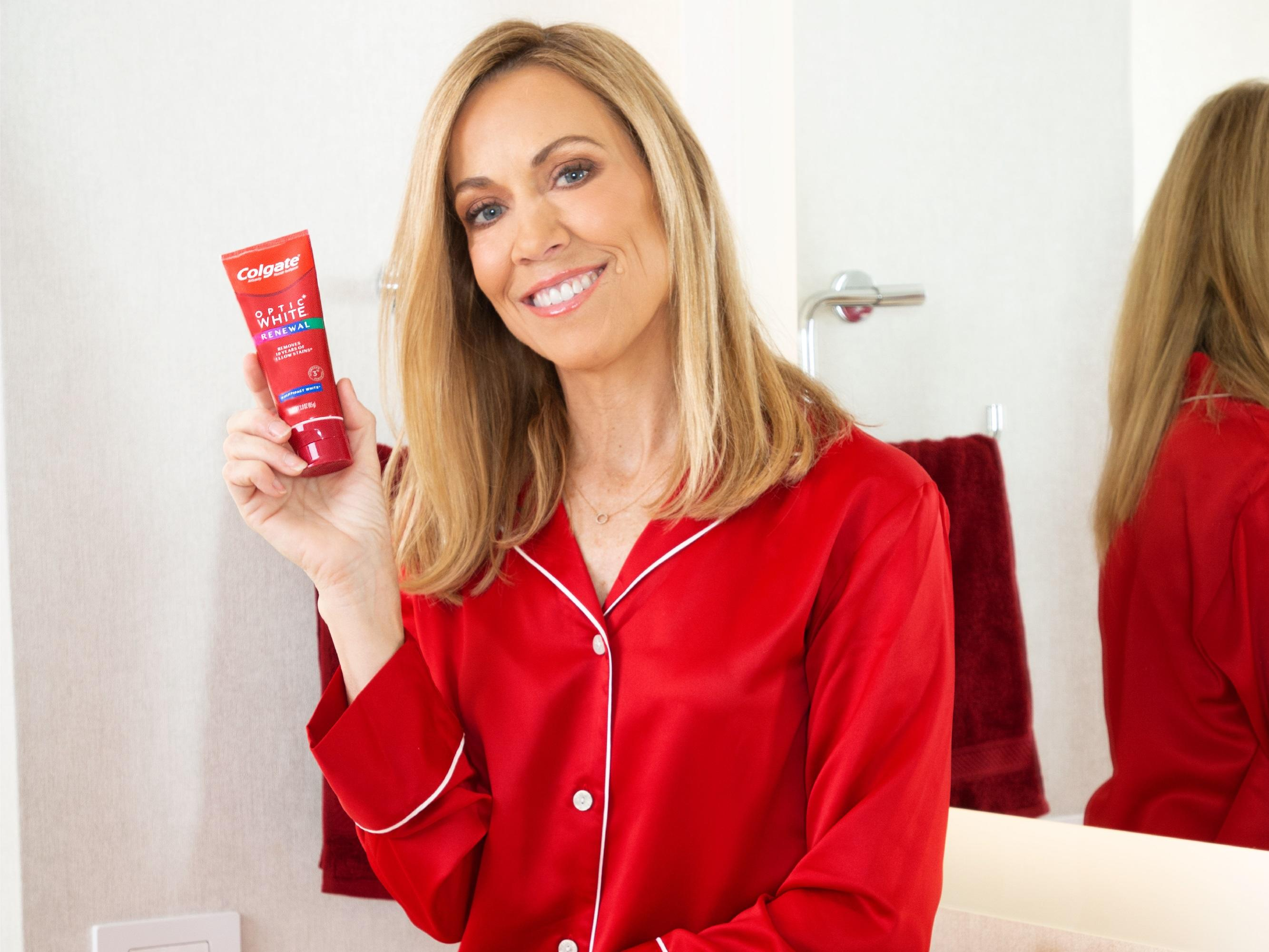 News post image: Colgate® Optic White® Teams Up with Multi-Platinum Selling Artist Sheryl Crow to Launch the New Colgate® Optic White® Renewal Toothpaste