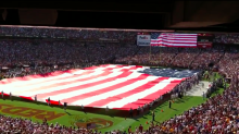 YouTube thought a giant American flag wasn't 'advertiser friendly'