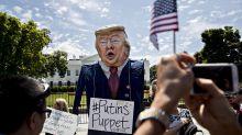 How the world mocks Trump in performance art