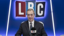 Brexit Party leader Nigel Farage leaves LBC with immediate effect, radio station announces