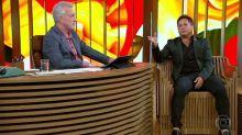 Leonardo desabafa na TV: 'Lembro do Leandro todos os dias'