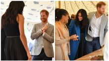 The internet can't deal with how Prince Harry lovingly looks at Meghan Markle