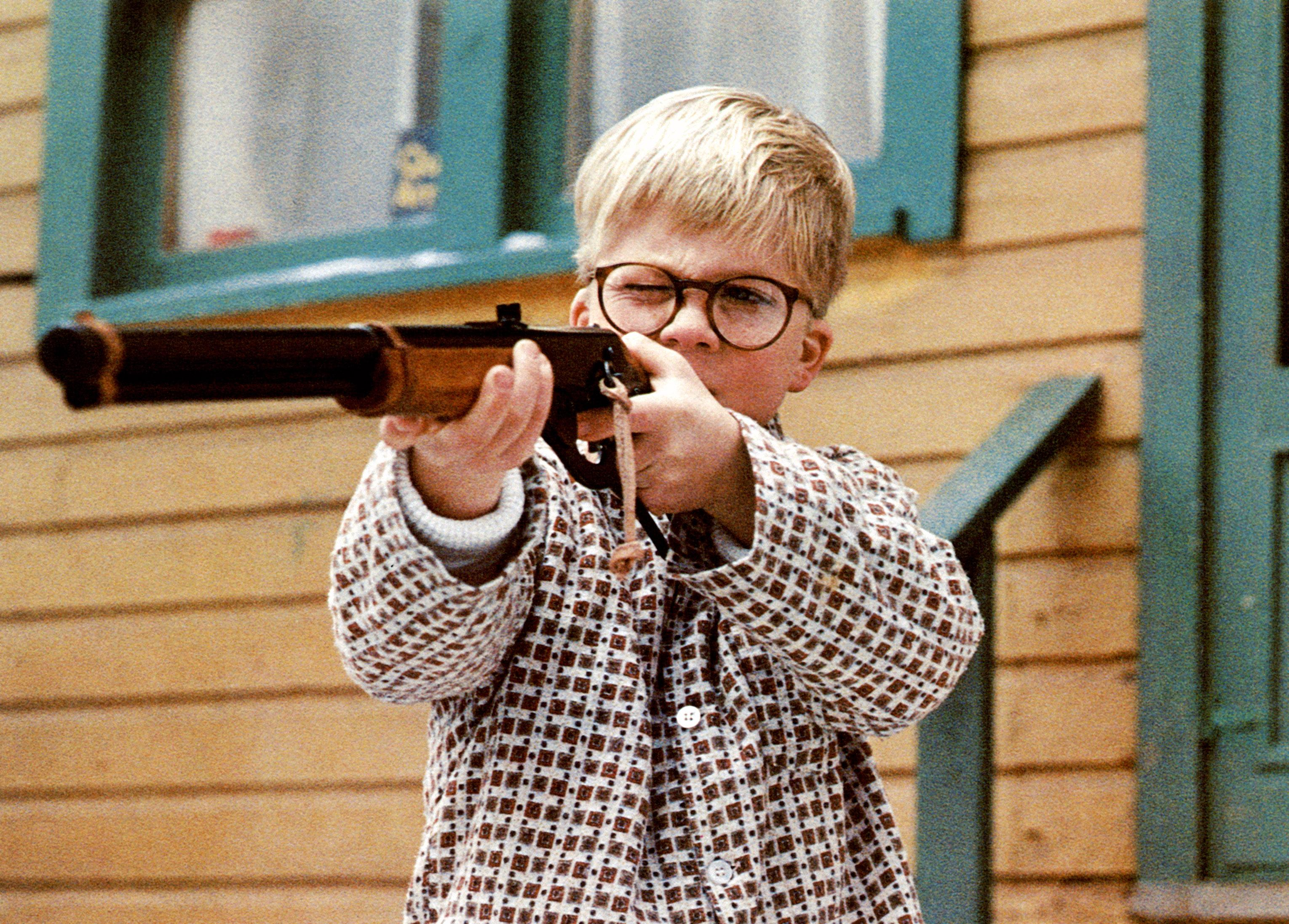 Peter Billingsley as Ralphie in A Christmas Story. (Photo: MGM/Everett Collection)