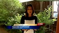 Washington Middle School teacher suspended over texts