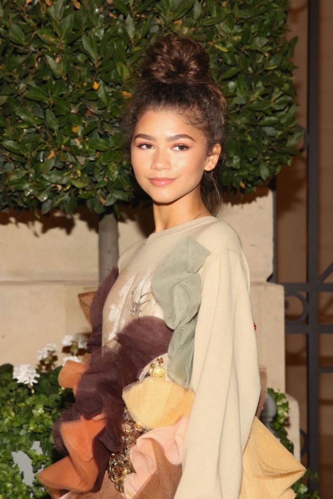 Zendaya flawlessly rocking natural hair. (Photo: Getty Images)
