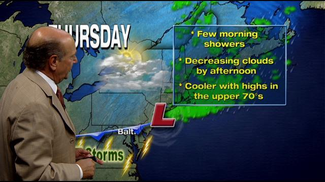 Marty Bass Has Your Thursday Morning Forecast