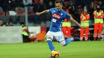Il Napoli si aggrappa a Milik: un goal ogni 125 minuti