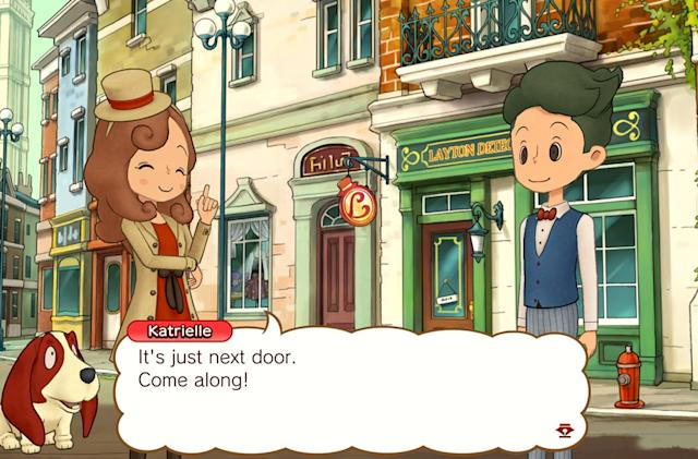 A 'Layton' game is coming to Switch on November 8th
