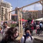 Activists Hang Nooses in Beirut Square, Blame Politicians for Deadly Blast