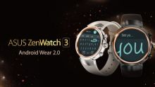 ASUS ZenWatch 3 升級至 Android Wear 2.0!