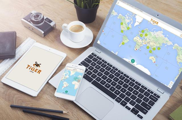 Get a lifetime of online privacy and security with TigerVPN, now just $29