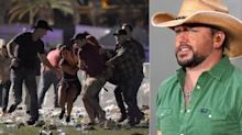 Las Vegas shooting: Terrifying moment Jason Aldean fled the stage as gunman opened fire during country star's set