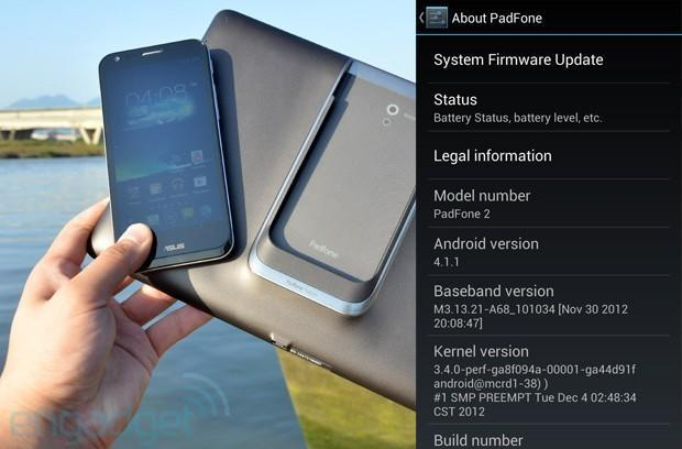 ASUS PadFone 2 Android 4.1 Jelly Bean update starts arriving over the air