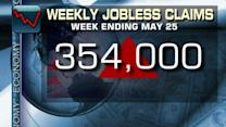 Weekly jobless claims make surprise jump