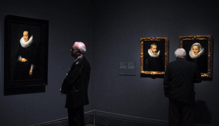 Van Dyck Portrait Set To Fetch 1 000