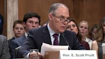 Donald Trump's Pick for EPA, Scott Pruitt, Calls Human Activity a Factor in Changing Climate