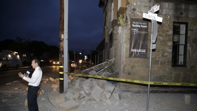 Raw: 6.0 Earthquake Shakes California's Bay Area