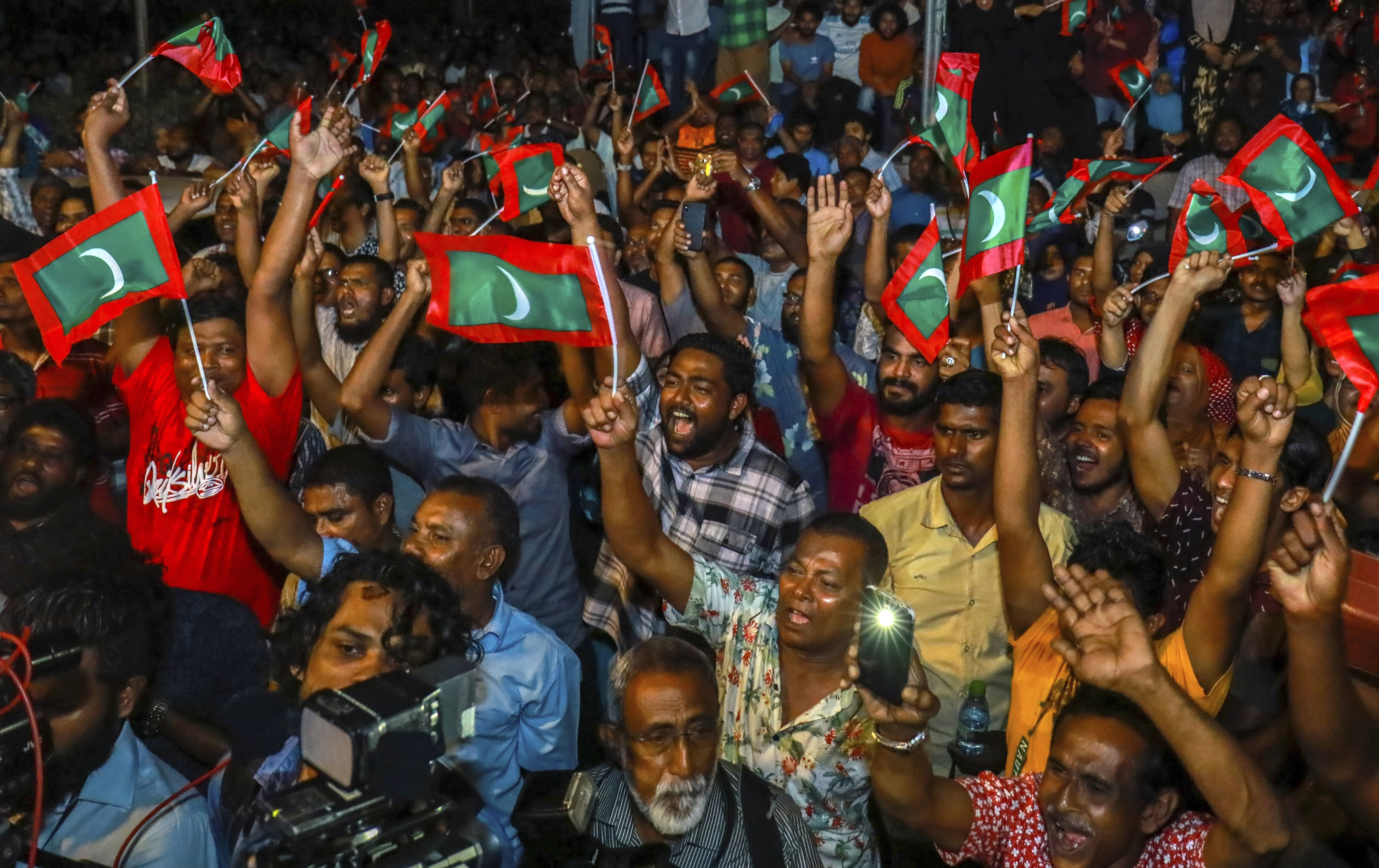 Timeline of political events leading up to Maldives election