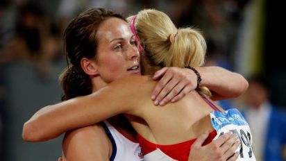 Kelly Sotherton set for Olympic bronze after Russia's Chernova tests positive for steroid use