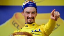 Julian Alaphilippe reclaims Tour de France yellow jersey in emotional stage win