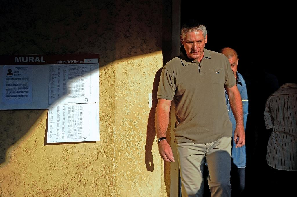 Cuba's Miguel Diaz-Canel, who some say bears a passing resemblance to Richard Gere, likes to wear casual clothes and is a fan of The Beatles (AFP Photo/YAMIL LAGE)