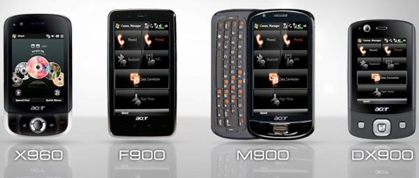 Acer unveils Tempo smartphone series, forgets Windows Mobile 6.5