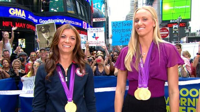 Summer Olympics 2012: U.S. Women on Winning Gold