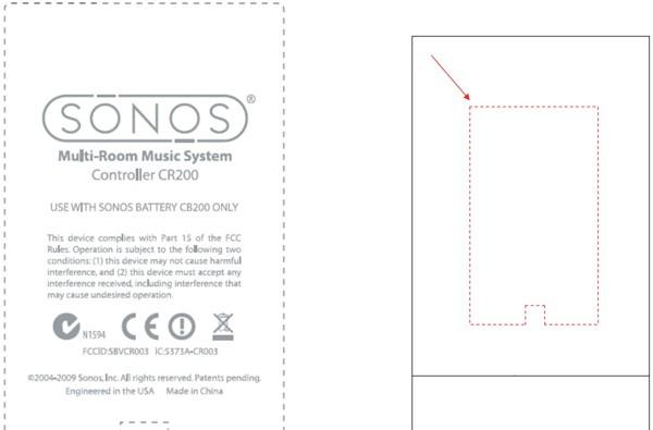 Sonos CR200 controller outed by the FCC