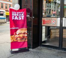 Wendy's new breakfast menu fires up same-store sales