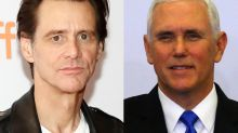 Jim Carrey Taunts 'Psycho' Mike Pence With Biting New Portrait