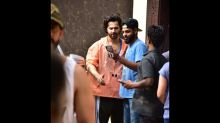 Varun Dhawan Poses For Selfies With Fans After His Workout Session; Janhvi Kapoor Goes Shopping