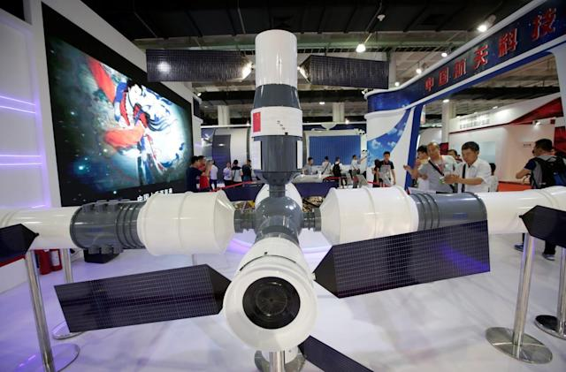 China is inviting international scientists to its future space station