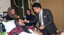 The former world's heaviest woman Eman Ahmed Abd El Aty has died aged 37