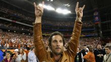 Matthew McConaughey Gave His Beloved Texas Longhorns a Pep Talk Before Epic Overtime Victory