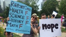 Protesters rally against Ford government at Queen's Park