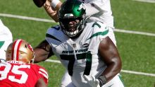 Mekhi Becton set to join Sam Darnold in return to Jets lineup