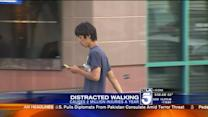 Pedestrian Deaths Up, Texting While Walking Blamed