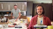 Tous en cuisine en direct avec Cyril Lignac: Panayotis Pascot fait craquer les téléspectatrices et part sonner chez... sa voisine!