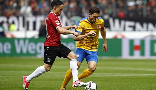 2. Liga: Hannover 96: Schmiedebach mit Wadenblessur