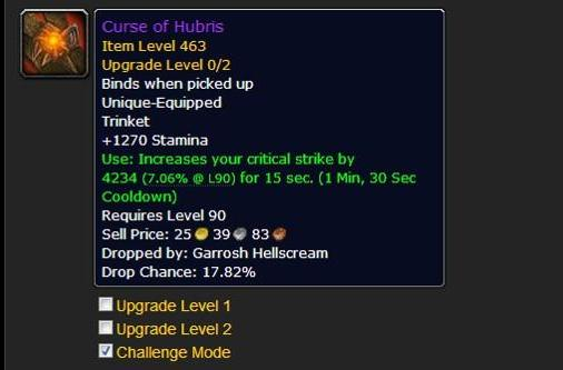 Check your scaling for Challenge Modes and Proving Grounds with Wowhead