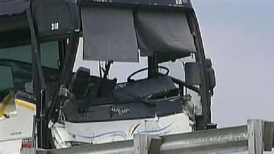 Tour Bus Driver Dies In Turnpike Collision With Flatbed