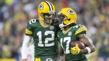 Watch: Davante Adams catches 45-yard TD from Aaron Rodgers