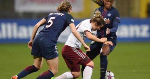 Foot - C1 (F) - PSG - «Que cela nous serve de leçon», lance Sabrina Delannoy (PSG) après la défaite à Munich