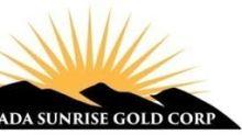 Nevada Sunrise Announces Stock Option Grants
