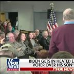 Joe Biden has heated exchange with Iowa voter over Hunter Biden's work in Ukraine