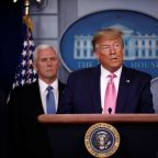 Trump says coronavirus risk in U.S. is low; CDC confirms first case of unknown origin
