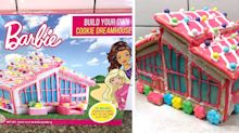 You Can Build a Barbie Dreamhouse Out of Cookies to Live Out Your Childhood